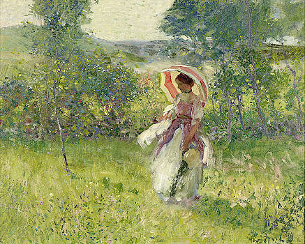 The Parasol by Richard Edward Miller