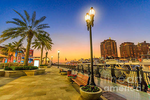 the Pearl Qatar Doha by Benny Marty