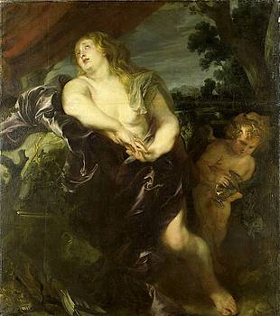 The Penitent Mary Magdalene by Anthony van Dyck