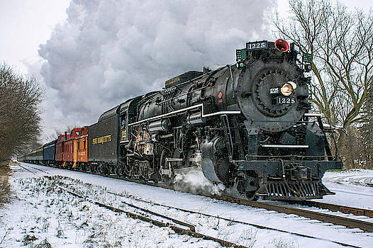 The Pere Marquette 1225  by Tom Clark
