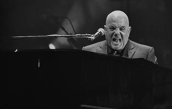 The Piano Man in Black and White by Alan Goldberg