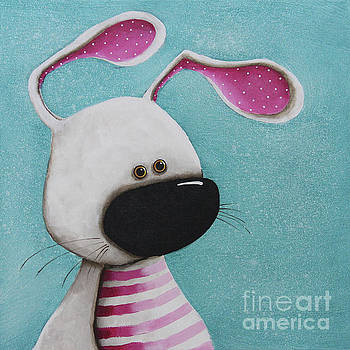 The Pink Bunny by Lucia Stewart