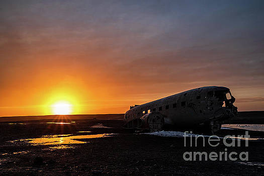 The plane wreck in Solheimasandur, Iceland by Luigi Morbidelli