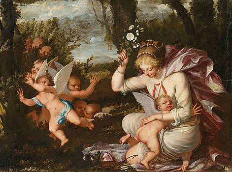 Pietro Liberi - The punishment of Cupid