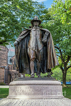 The Puritan Statue by John Greim