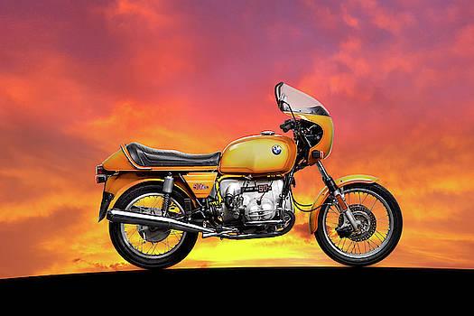 Mark Rogan - The R90S At Sunset