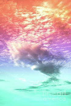 The Rainbow Cloud by PrintsProject