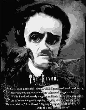 The Raven Edgar Allan Poe by Kenneth Rougeau