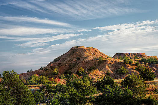 The Red Hills by Scott Bean