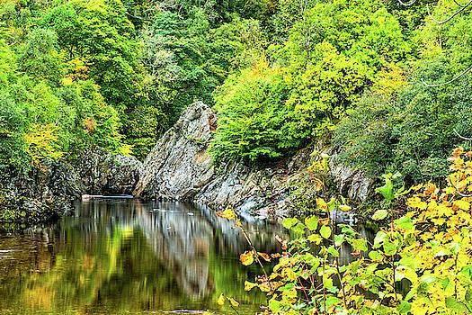 David Ross - The River Garry at Killiecrankie