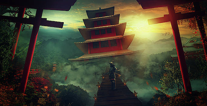 The Samurai Palace by Susan Gerardi