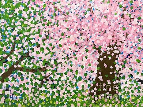 The scenery of spring by Wonju Hulse