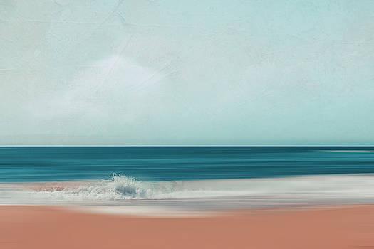 The Sea Says - Abstract Seascape by Dirk Wuestenhagen