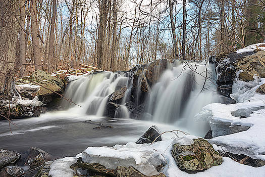 The Secret Waterfall - thawing by Brian Hale