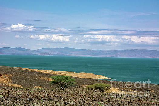The Serene Lake Turkana by Morris Keyonzo