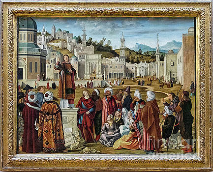 Wayne Moran - The Sermon of St Stephen Vittore Carpaccio Louvre Paris France