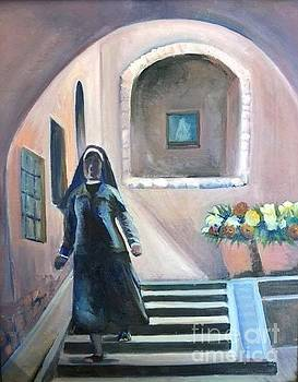 The Shy Nun by Lilly Ramphal