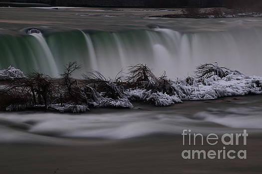 The Silky Horseshoe Falls by Tony Lee