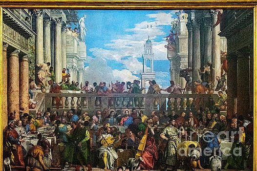 Wayne Moran - The Spectacular Wedding at Cana Paolo Veronese Louvre Paris France