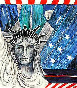 The Statue Of Liberty by Jackie Nourigat