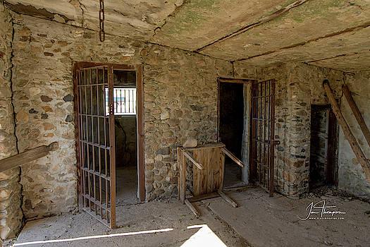 The Stone Jailhouse Interior by Jim Thompson