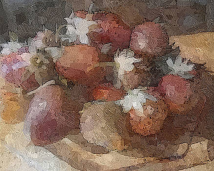 The Strawberry Plate by Don Berg