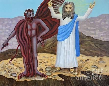 The Temptation of Christ by Caroline Street