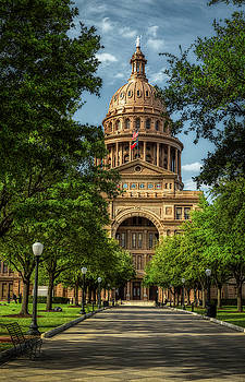 The Texas State Capitol In Austin by Mountain Dreams