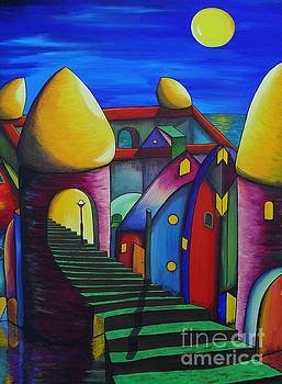 The Towers by Lia Van Elffenbrinck