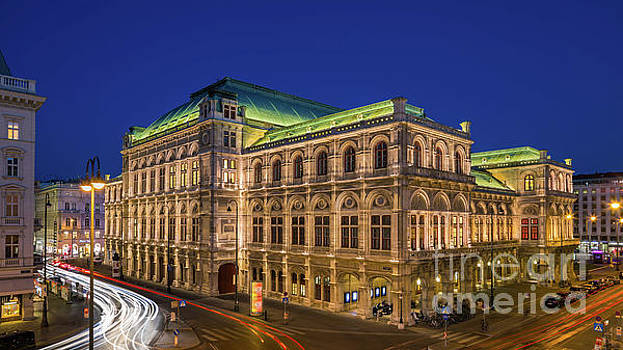 The Vienna State Opera, Austria. by Henk Meijer Photography