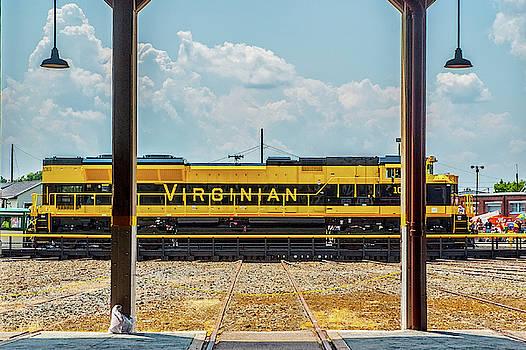 Matthew Irvin - The Virginian Railway Unit on the Turntable