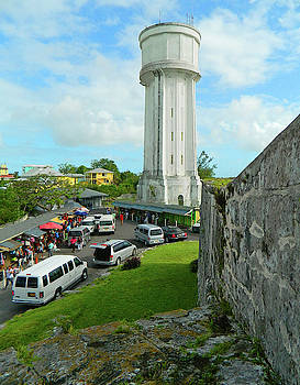 The Water Tower Behind Fort Fincastle by Emmy Marie Vickers