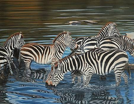 The Watering Hole by Peter Mathios