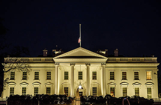 The White House I by Dawn Wayand