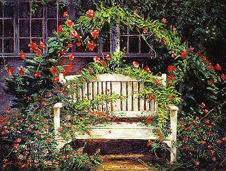 The White Sunbench by David Lloyd Glover