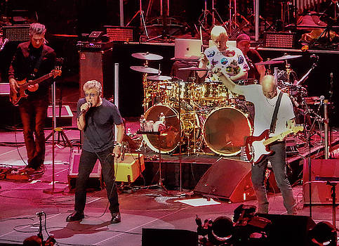 The Who - Roger Daltrey and Pete Townsend by Alan Goldberg