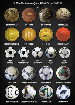 The World Cup Balls by Zapista Zapista