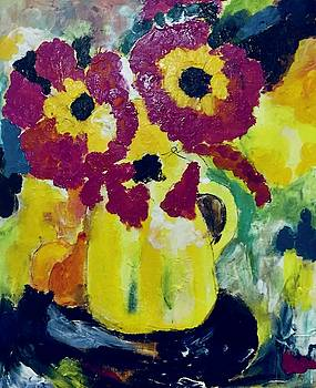 The Yellow Vase by Carol Stanley