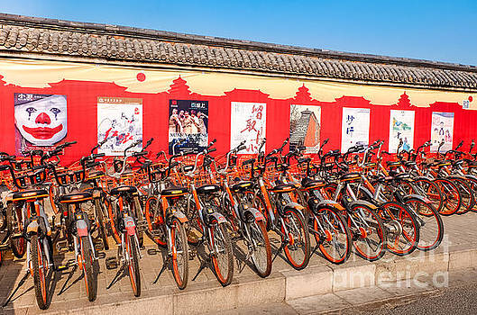 Theater posters and bikes by Iryna Liveoak