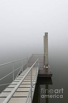Dale Powell - Thick Fog and Still Waters over the Wando River