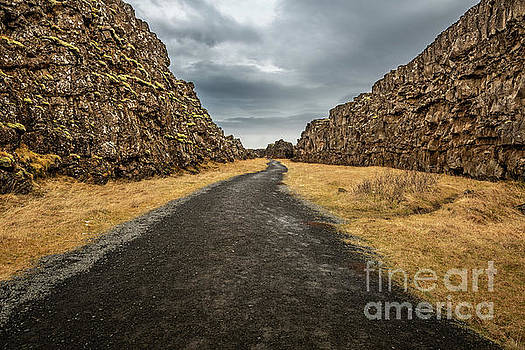 Thingvellir in Iceland, where you can walk between two continent by Jamie Pham