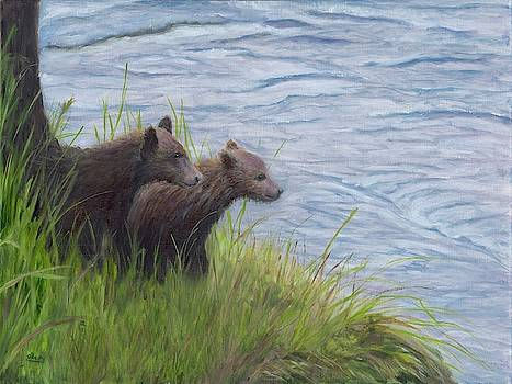 Thinking of a Swim by Deborah Butts