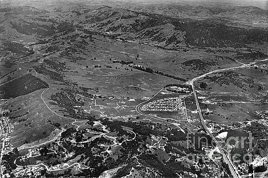 California Views Archives Mr Pat Hathaway Archives - This is view of North San Rafael now Terra Linda.  Marin Co.  Ci