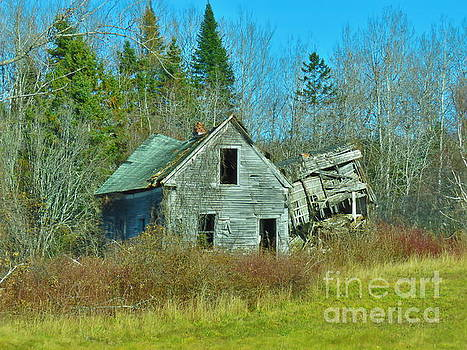 This old house by Brenda Ketch