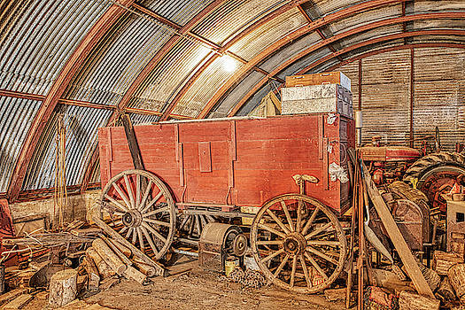 This Old Shed Held a Surprise by Jim Thompson