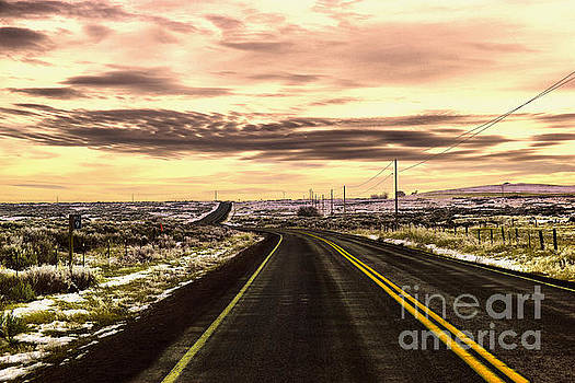 Those long winding roads  by Jeff Swan