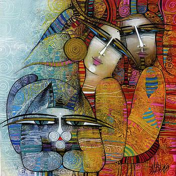 Three by Albena Vatcheva