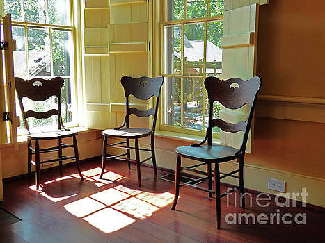 Sharon Williams Eng - Three Chairs and Sunshine 300