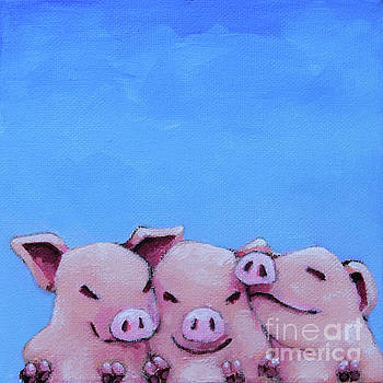 Three Little Pigs by Lucia Stewart
