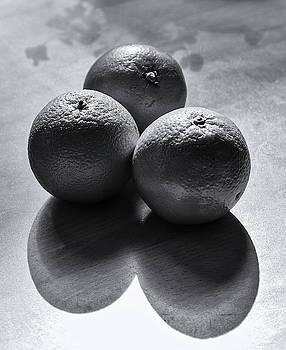 Three Oranges Monochrome by Jeff Townsend